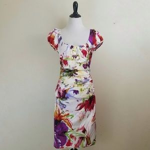 Suzi Chin for Maggy Boutique Floral Dress